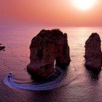 صخره های روشه بیروت