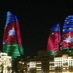 برجهای شعله باکو