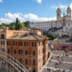 پله های اسپانیایی ایتالیا
