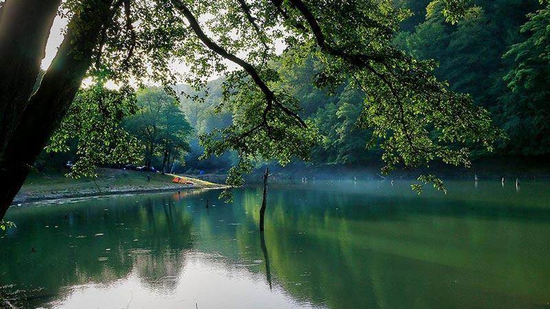 دریاچه چورت مازندران