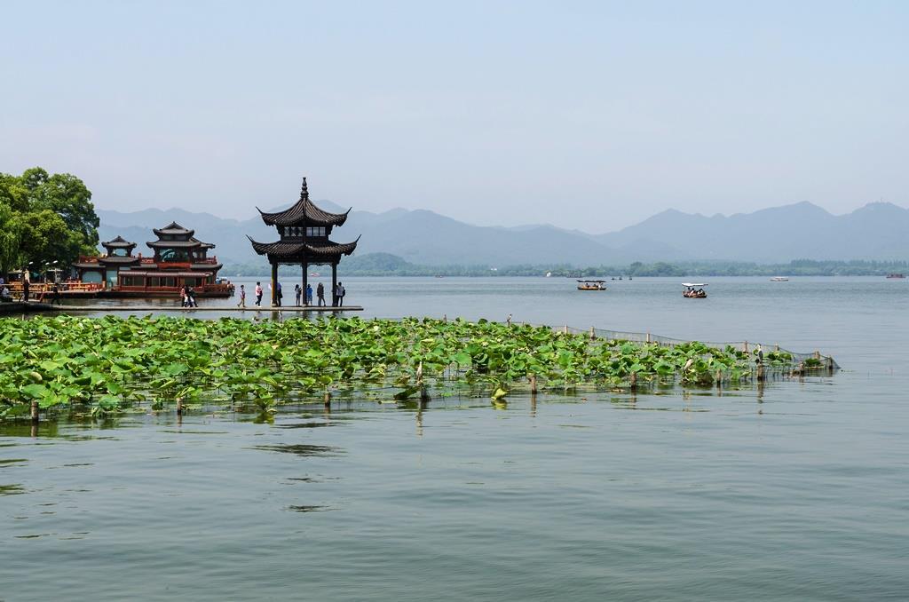 دریاچه غربی هانگزو چین