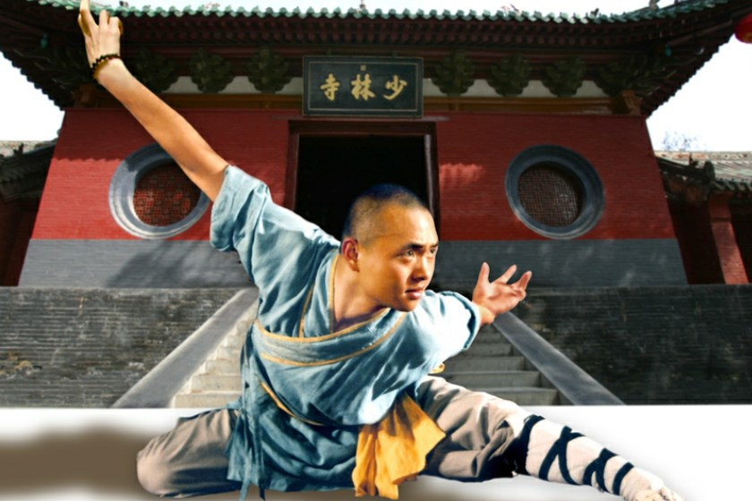معبد شائولین چین