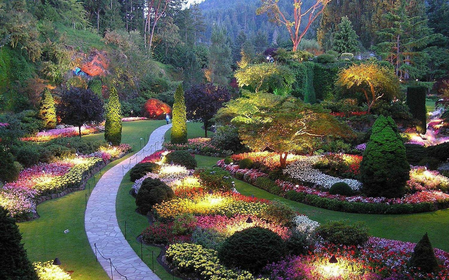 باغهای بوچارت کانادا