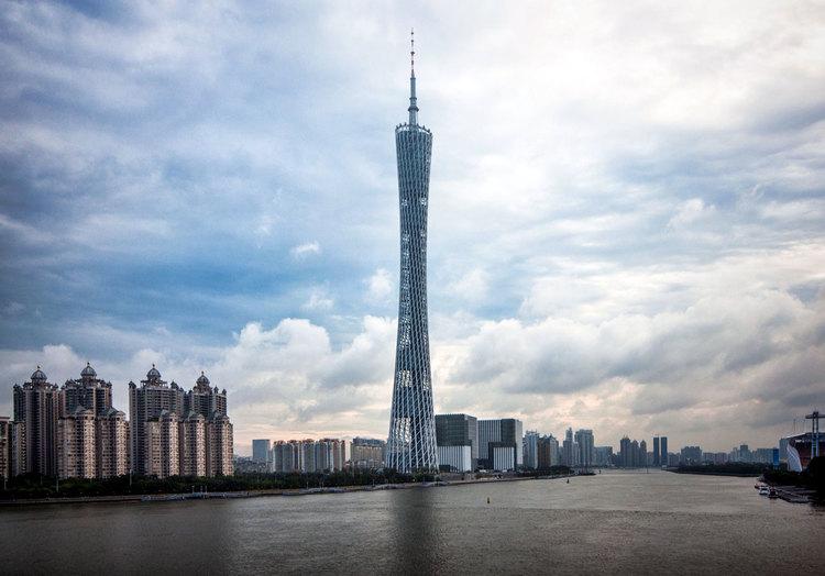 برج کانتون گوآنجو چین