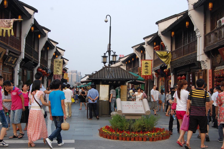 خیابان قدیمی کینگ هفانگ چین