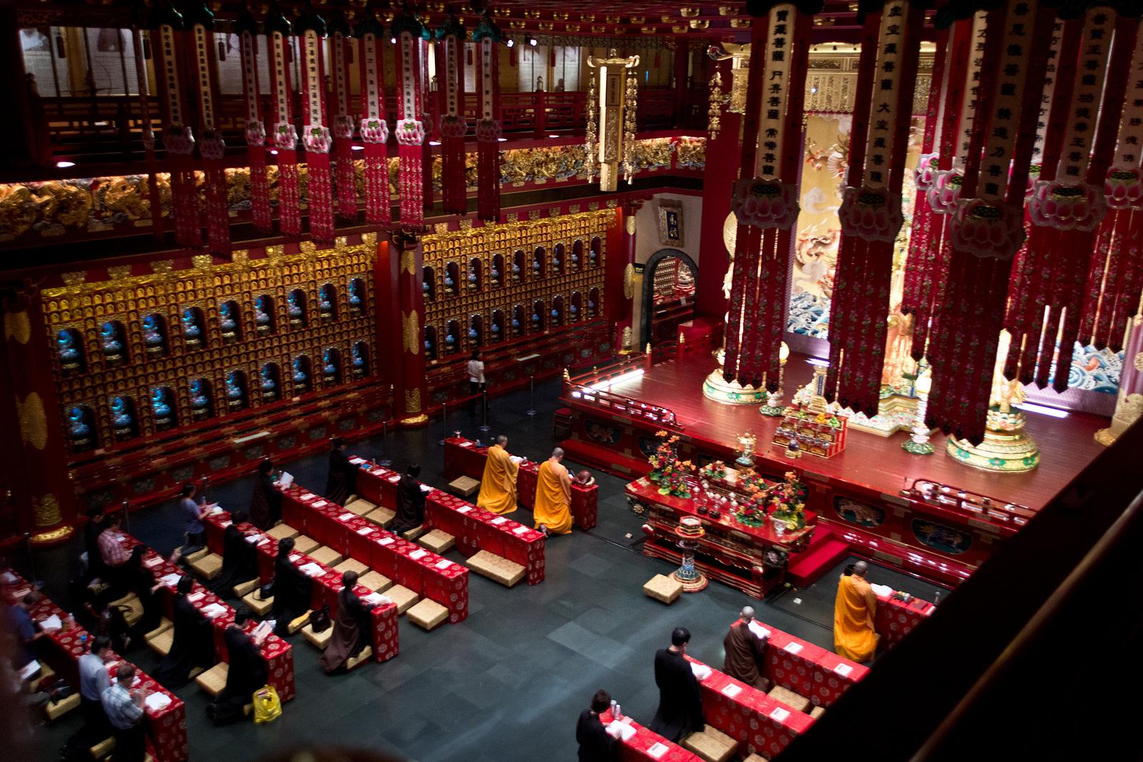 معبد و موزه دندان عتیقه سنگاپور