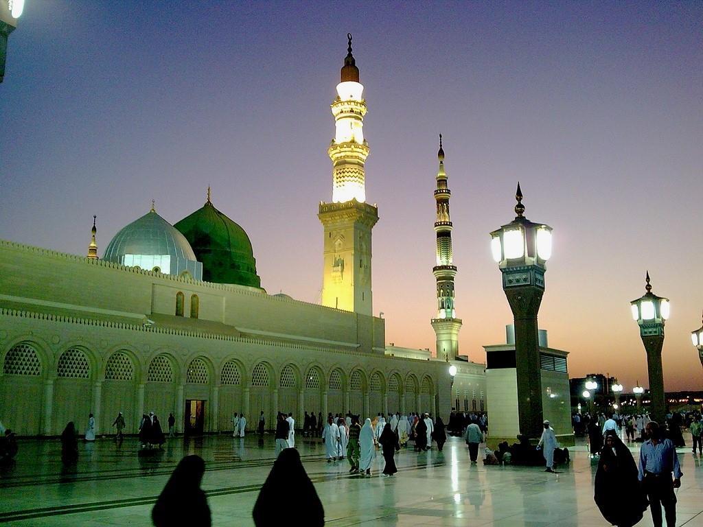 مسجد النبی عربستان