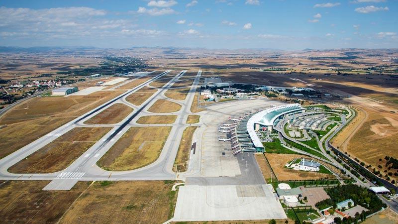فرودگاه اسن بوگا آنکارا