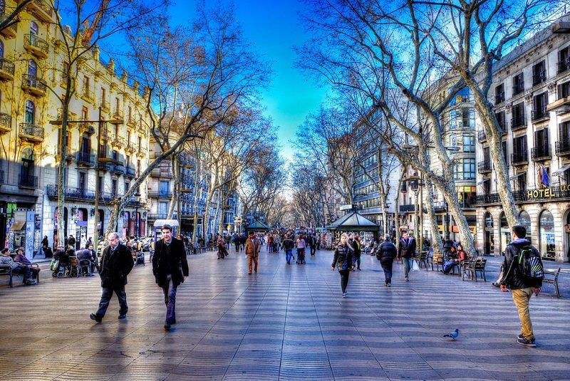 خیابان لا رامبلا بارسلون