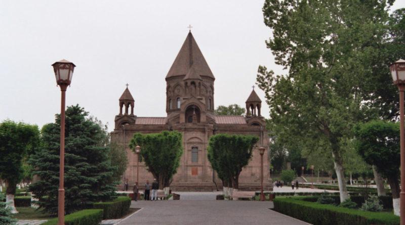 کلیسای جامع اچمیادزین ارمنستان
