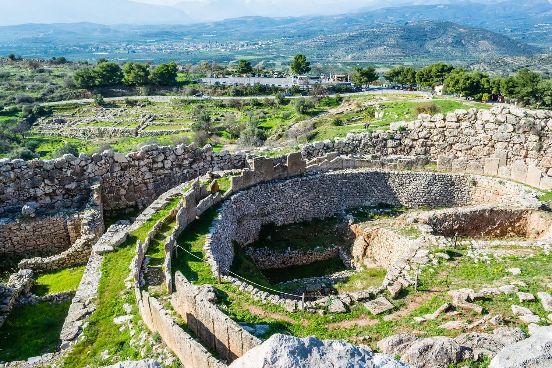 موکنای یونان