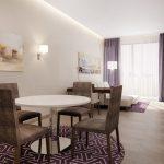 هتل سوییت مرکیور دبی برشا هایتس