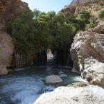 آبشار آب ملخ اصفهان