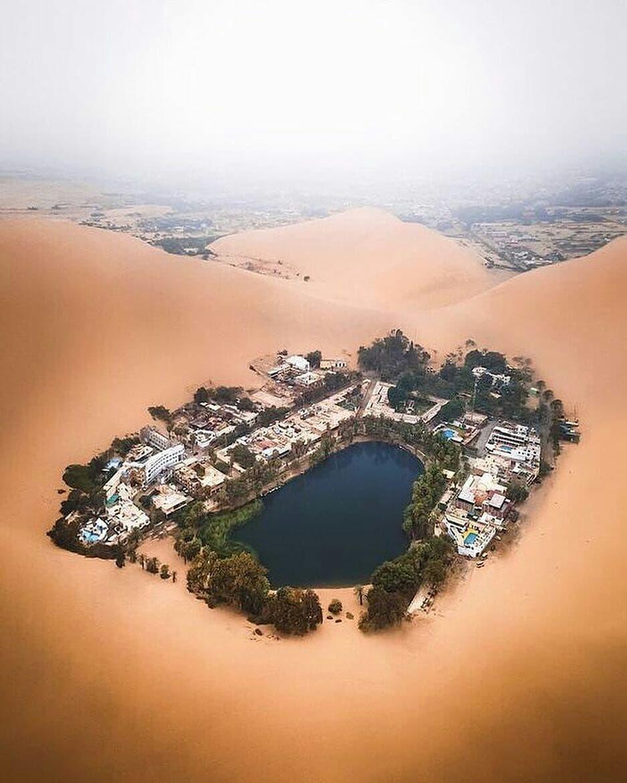 روستای هواکاچینا پرو