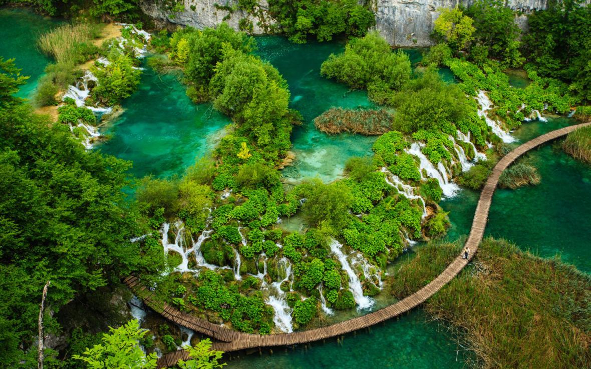 پارک ملی دریاچههای پلیتویک کرواسی