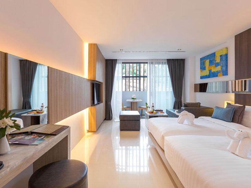 هتل دِ بِی اَند بیچ کلاب پوکت