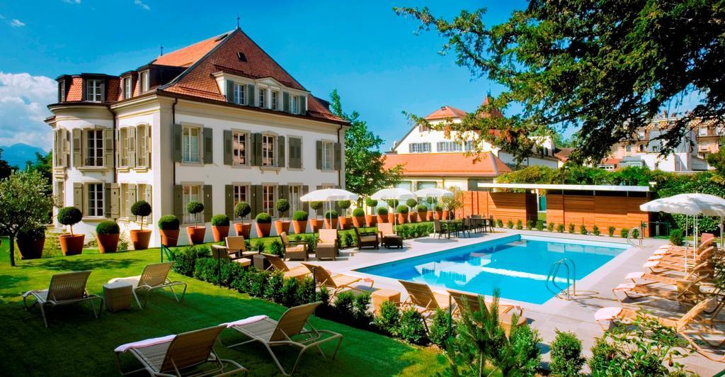 هتل آنگلوتق رزیدانس لوزان | Hotel Angleterre & Résidence