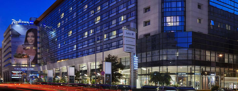 هتل رادیسون بلو بخارست