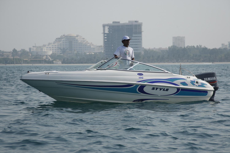 قایق سواری کیش
