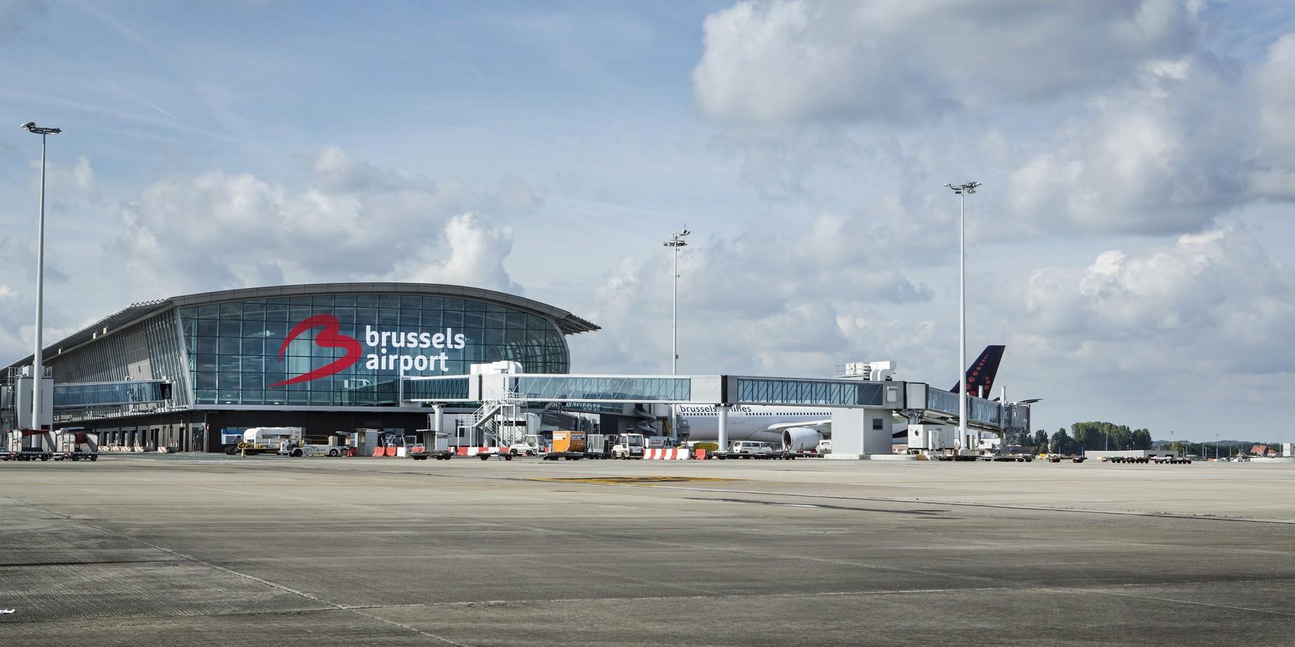 فرودگاه بروکسل
