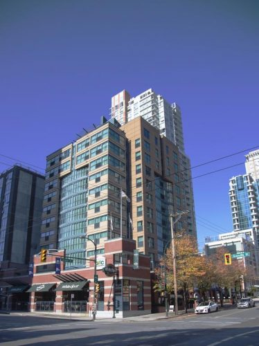 هتل جی ای سی گرنویل ونکوور