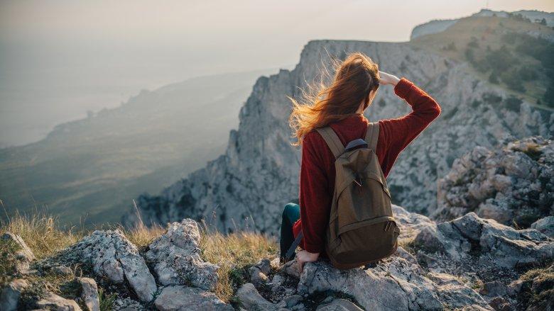 مسافر تنها