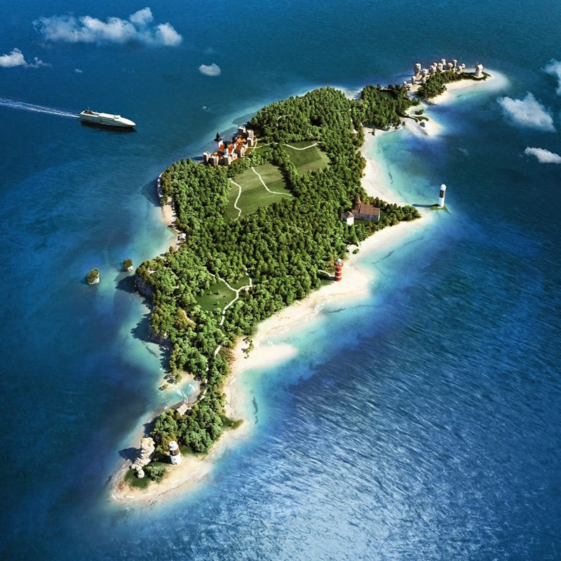 8 جزیره زیبای سوئد