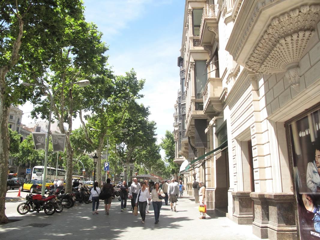 مشهورترین خیابانهای بارسلون