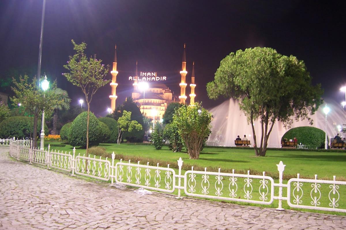 منطقه سلطان احمد استانبول