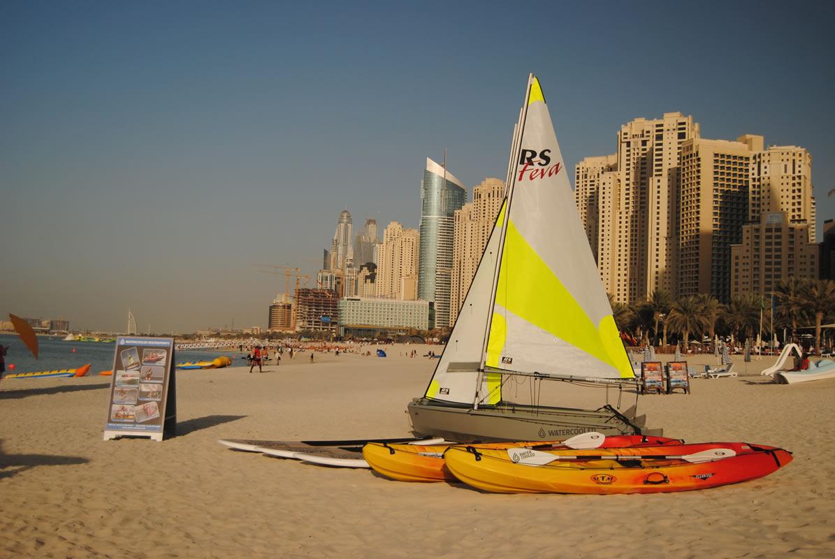 تفریحات آبی در دبی