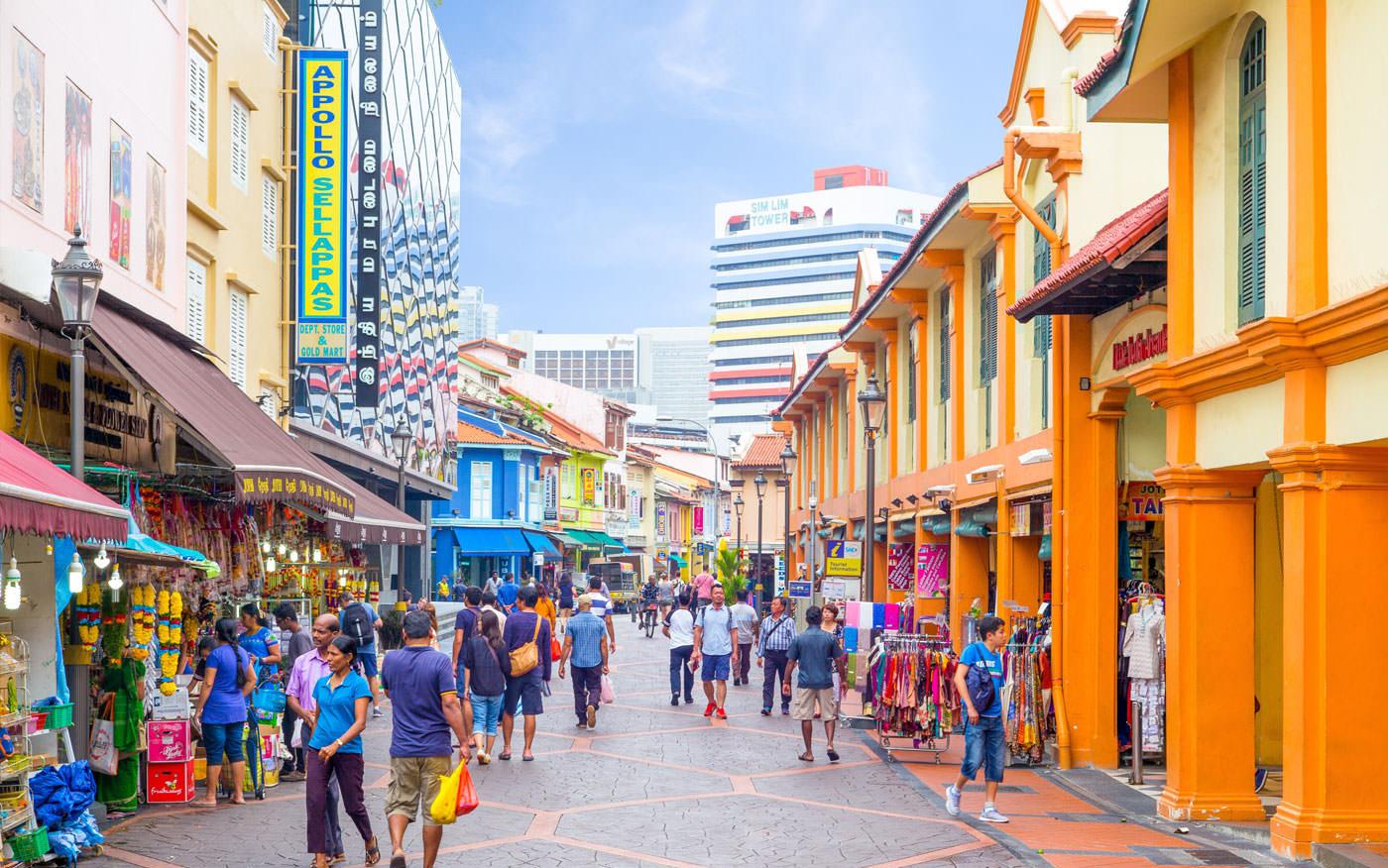 5 بازار محلی سنگاپور