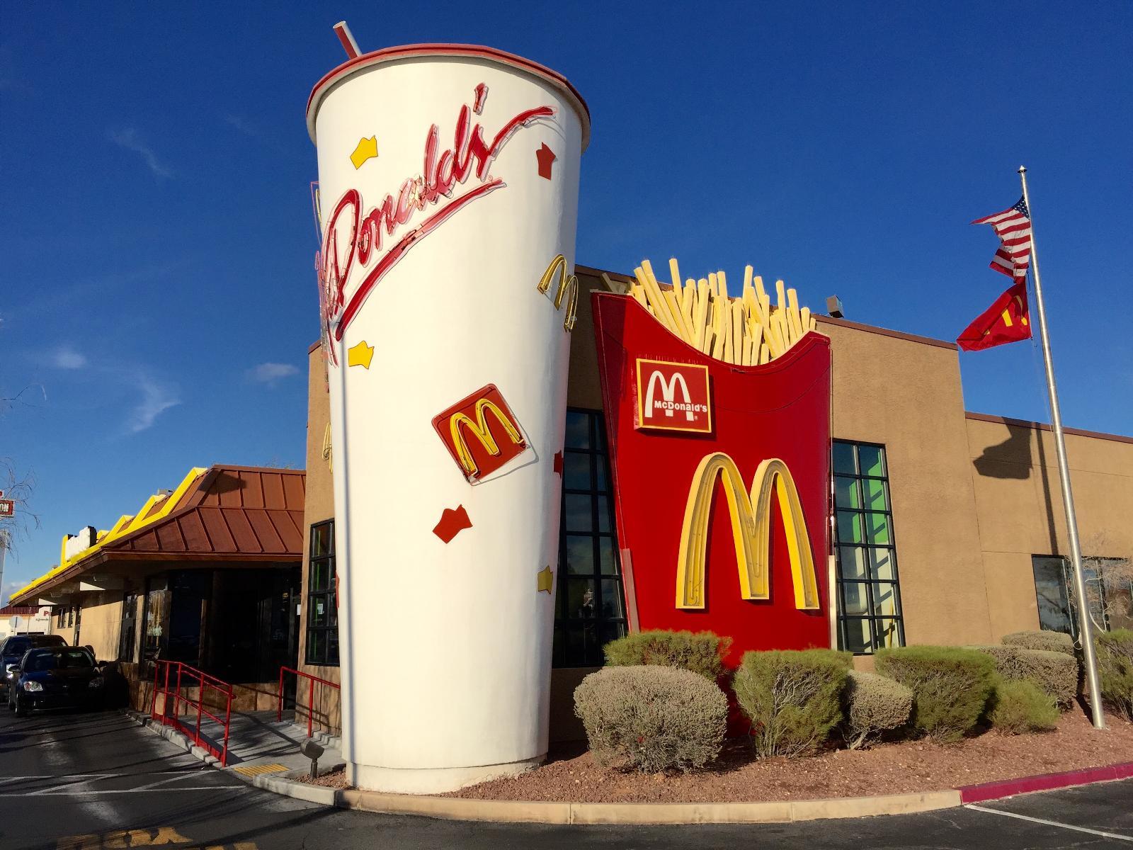 رستوران های مک دونالد