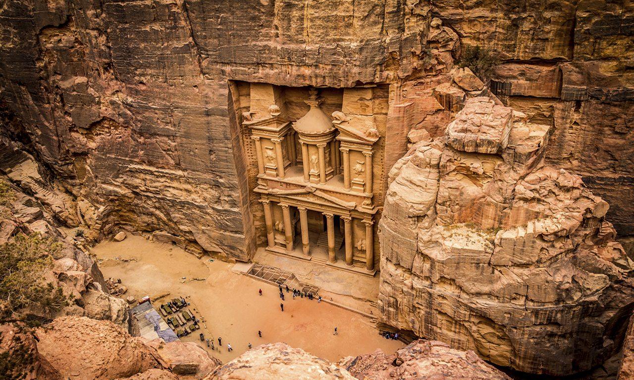 عجیب ترین شهرهای سنگی جهان