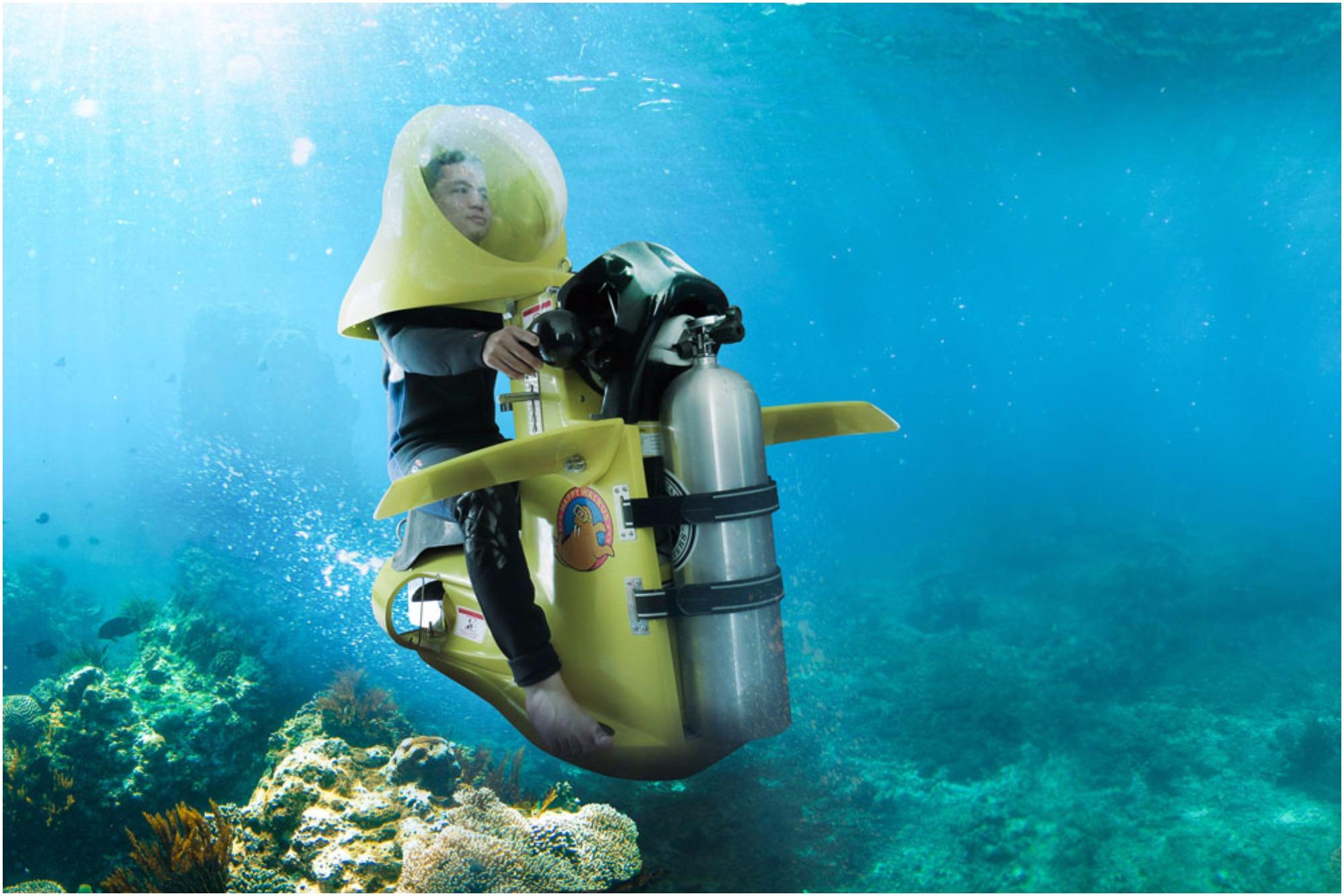 اسکوترهای زیر دریایی کیش