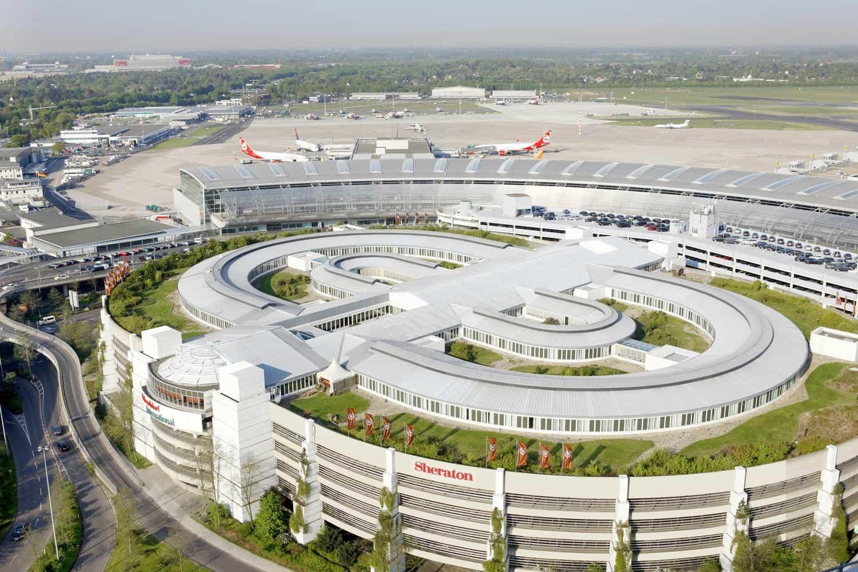 فرودگاه دوسلدورف آلمان