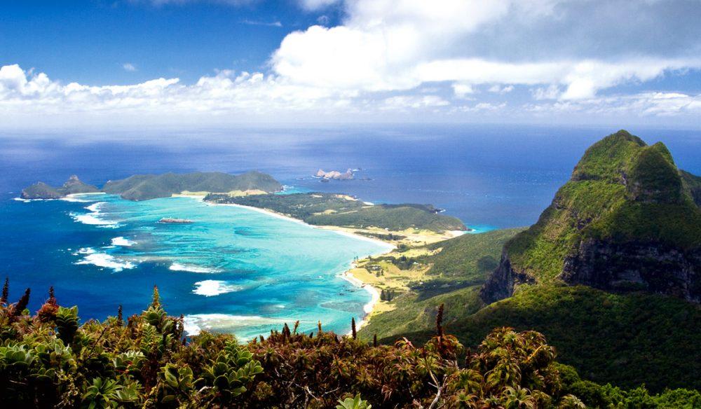 زیباترین جزایر اقیانوس آرام