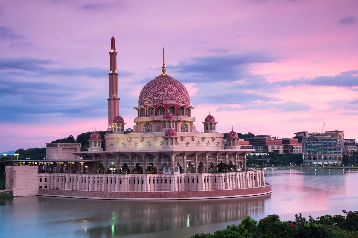 مسجد پوترا مالزی