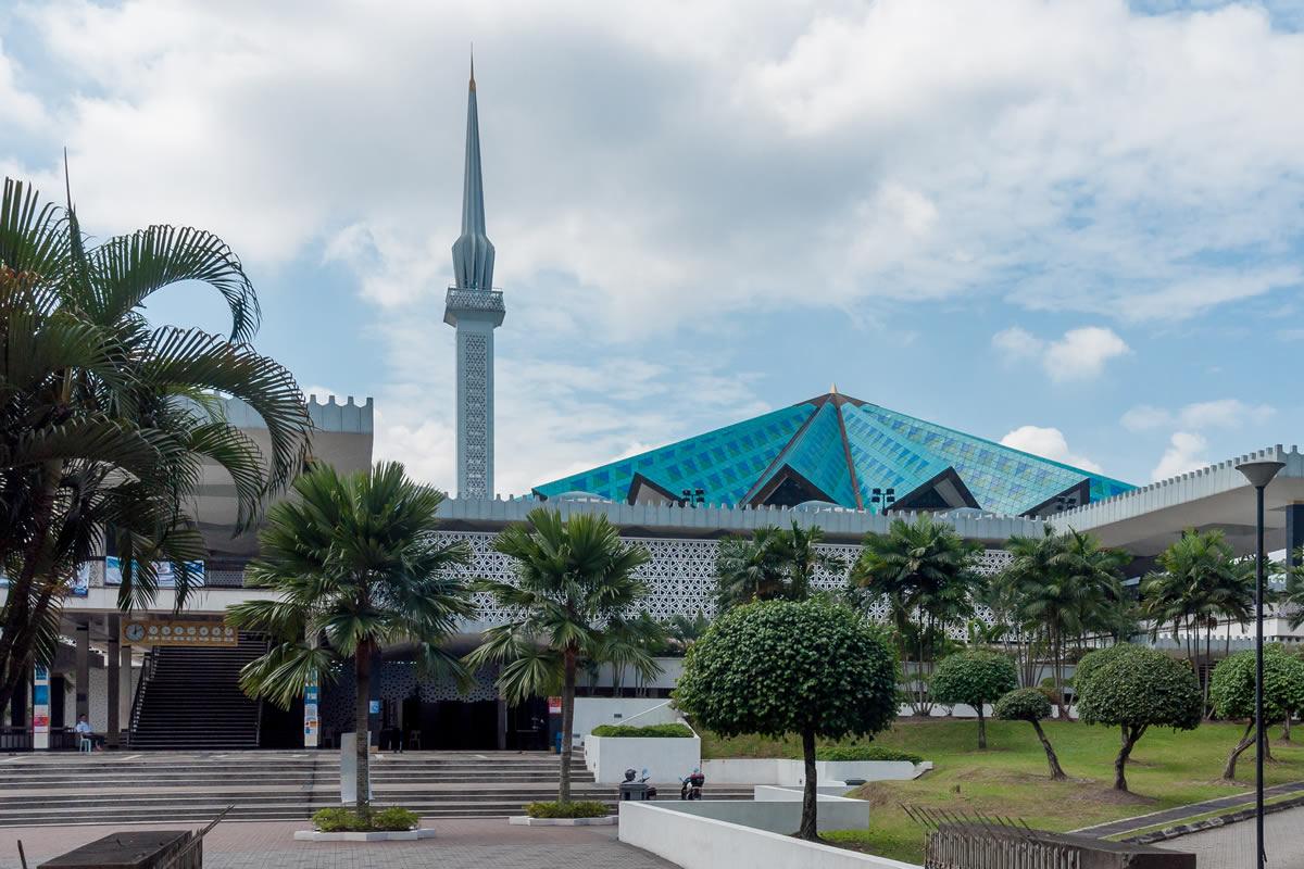 زیباترین مسجد های کوالالامپور
