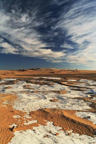 این بیابان در مصر رنگ عوض میکند
