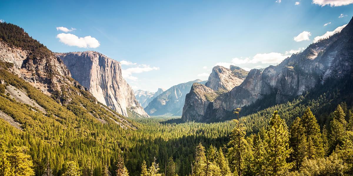 4 جاذبه شگفت انگیز طبیعی آمریکا