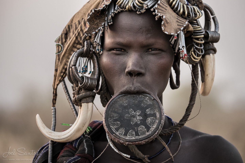 قبیله سورما اتیوپی