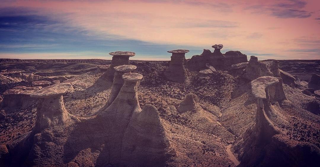 تپه های بیستی نیو مکزیکو و ردپای فرازمینی ها
