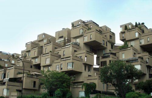 مجتمع مسکونی هبیتات 67 مونترال