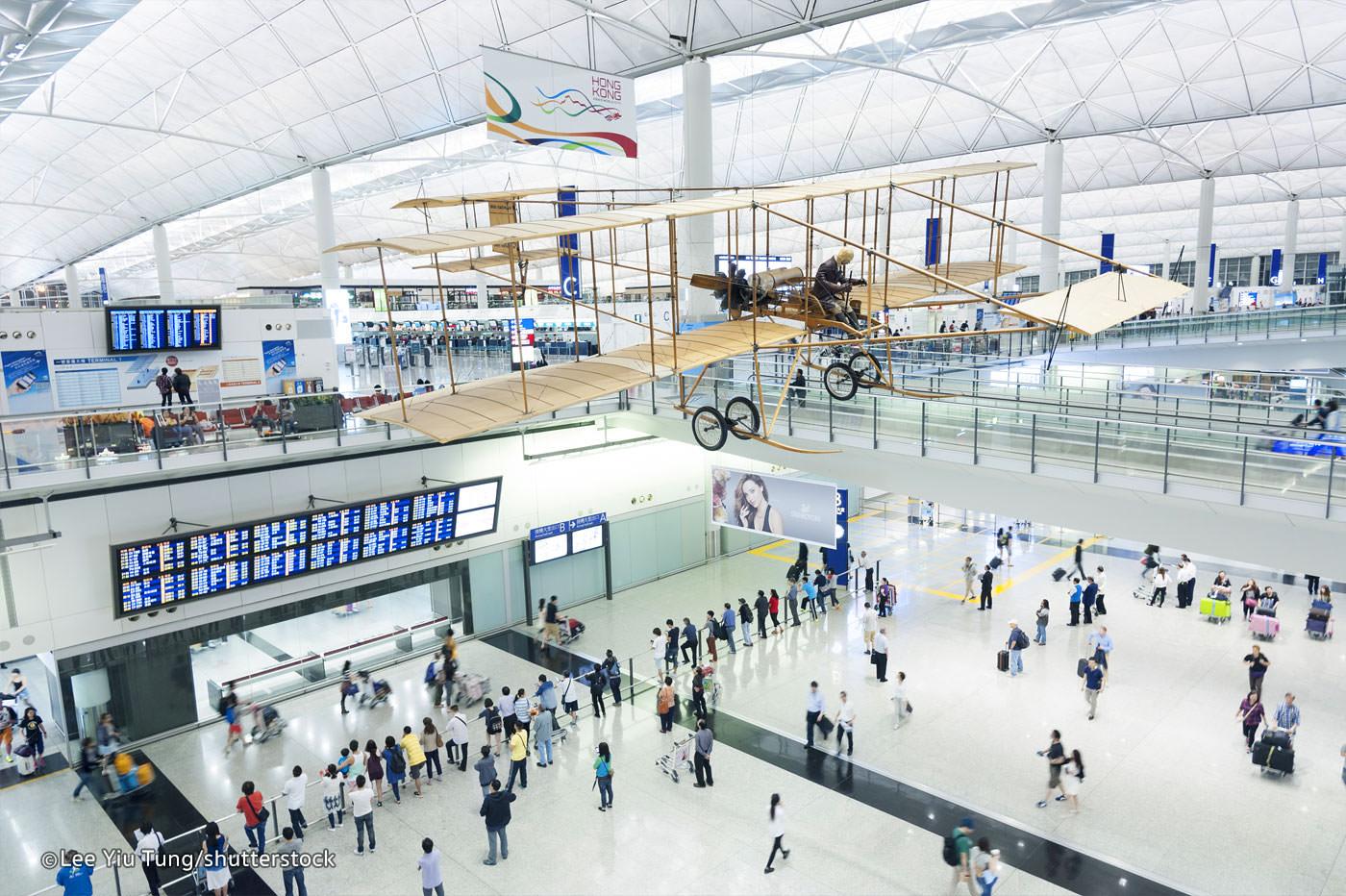 جاذبه های گردشگری و دیدنی فرودگاه هنگ کنگ
