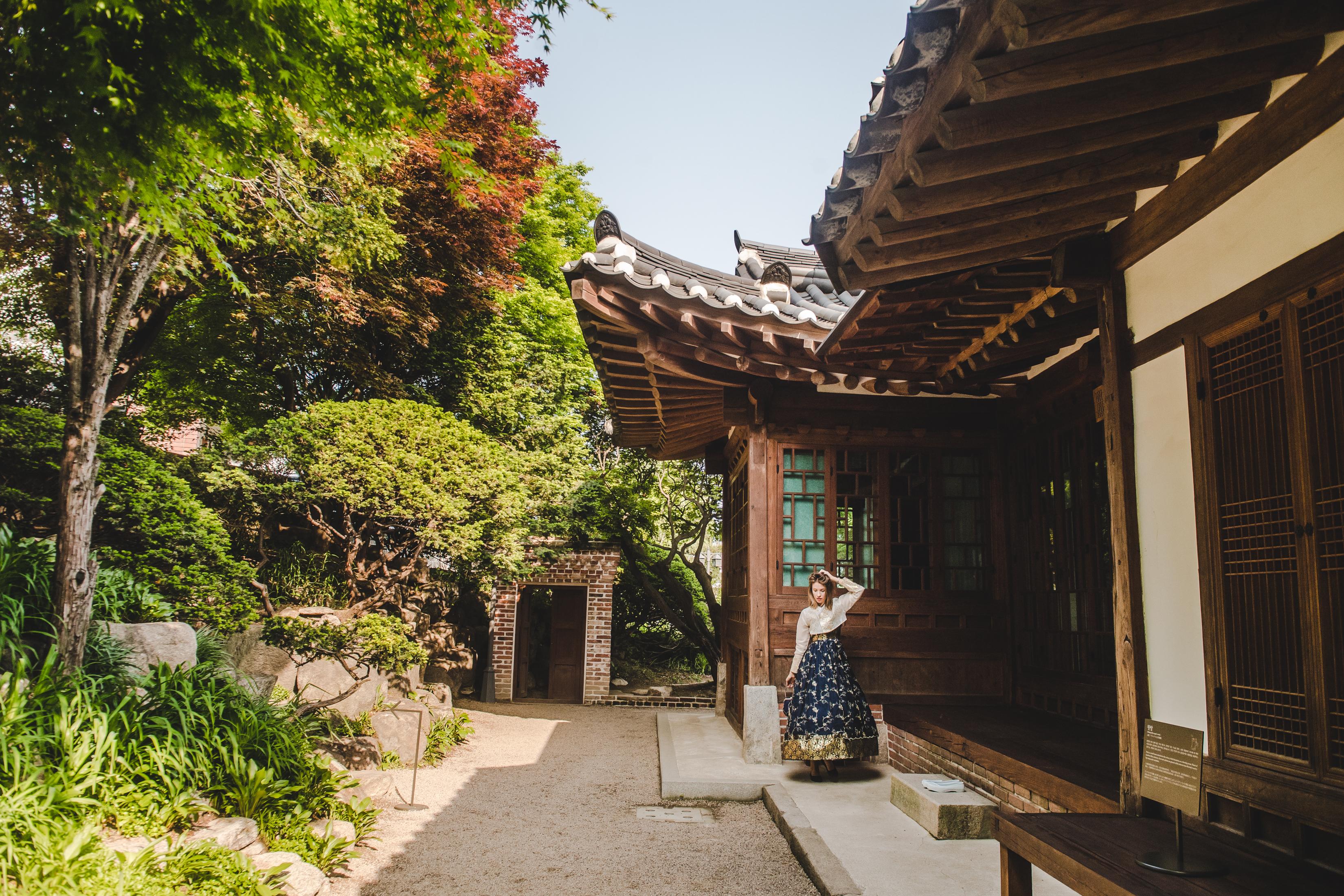 روستای باک چون هانوک سئول