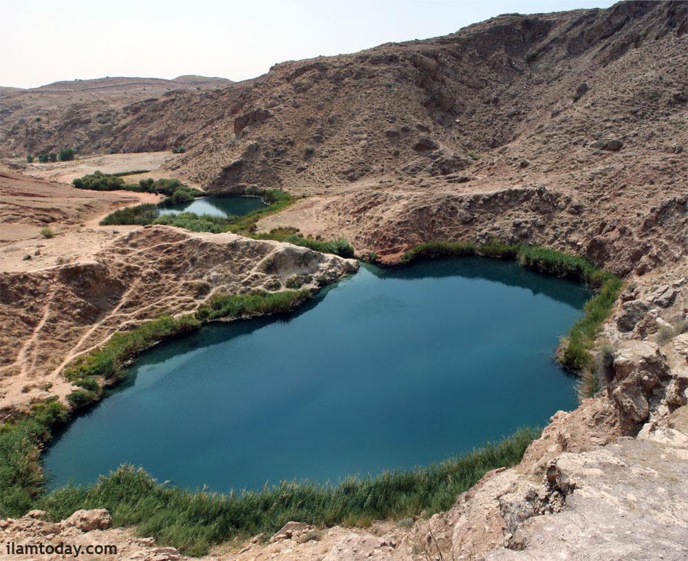 دریاچه دوقلوی سیاه گاو ایلام
