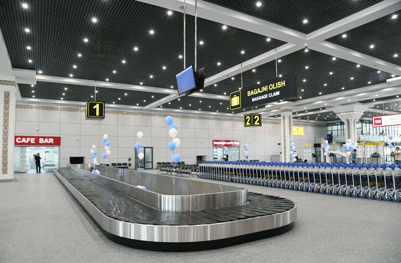 فرودگاه بین المللی تاشکند