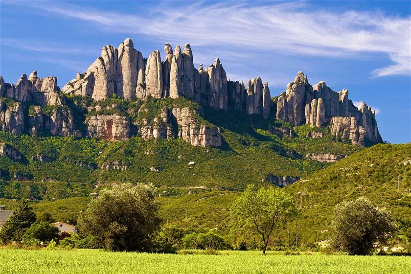 رشته کوه منتسرات اسپانیا