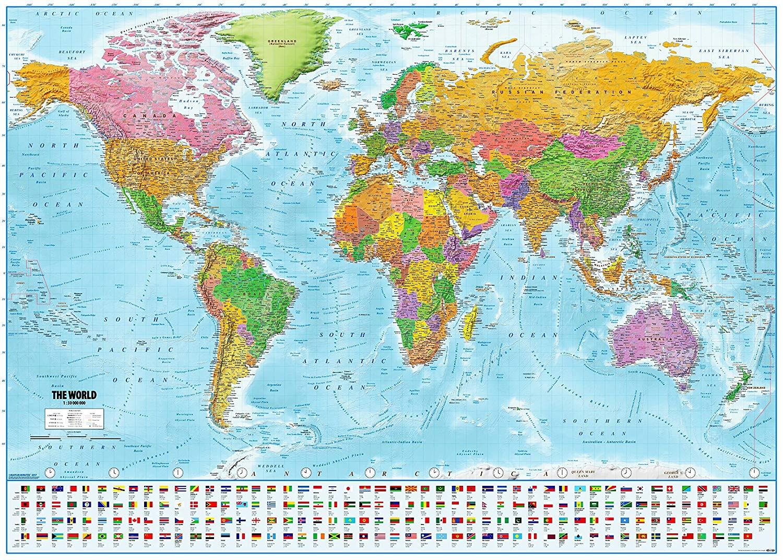 بزرگترین کشورهای جهان