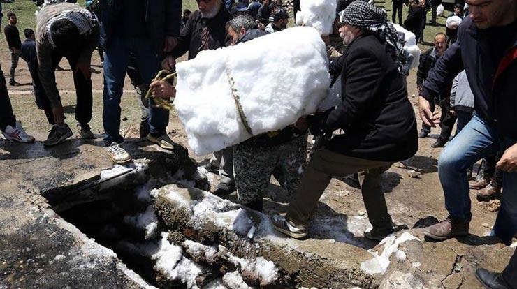 آیین برف چال مازندران